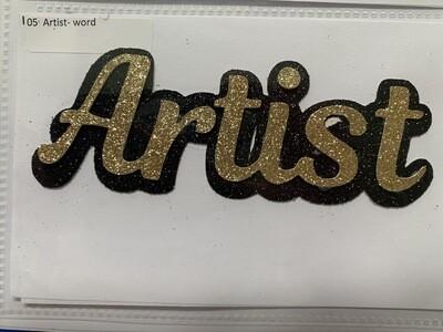 Artist- word