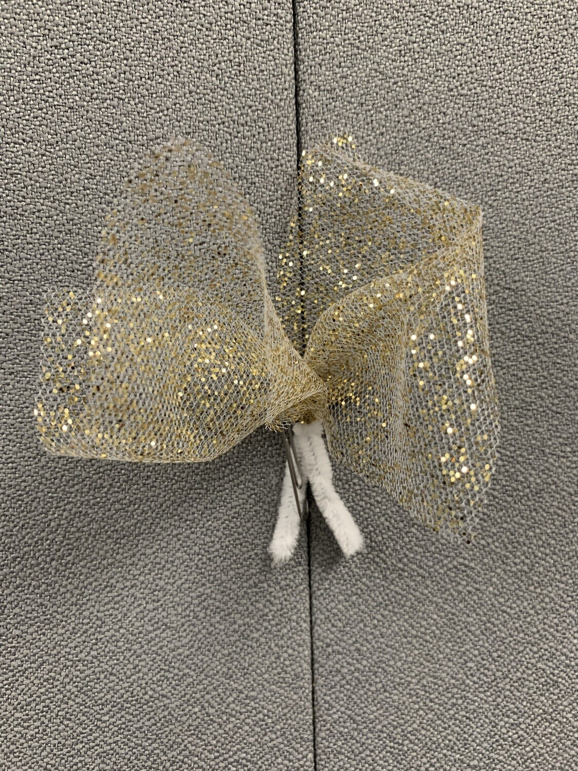3 Tulle Puffs-gold or silver