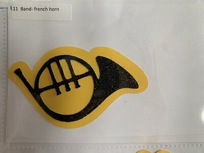 Band- french horn