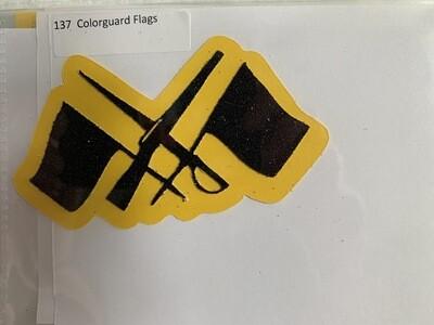 Colorguard Flags