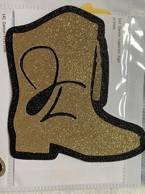 Dance- Legacies- logo in boot