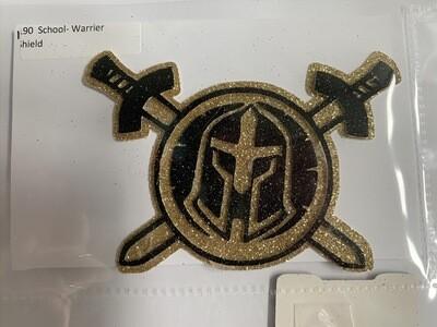 School- Warrior Shield