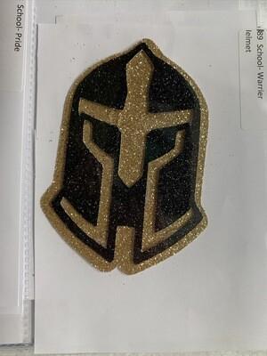School- Warrior Helmet