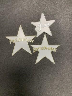 Sophmore Star Plaque