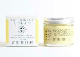 Deodorant Organic Cream