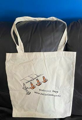 Ordinary Days Tote Bag (Holds at LEAST one LP) 😄