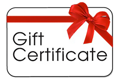 Redford Gift Certificate