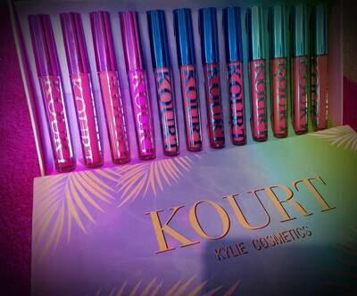 Kylie 12pc Lip KIts
