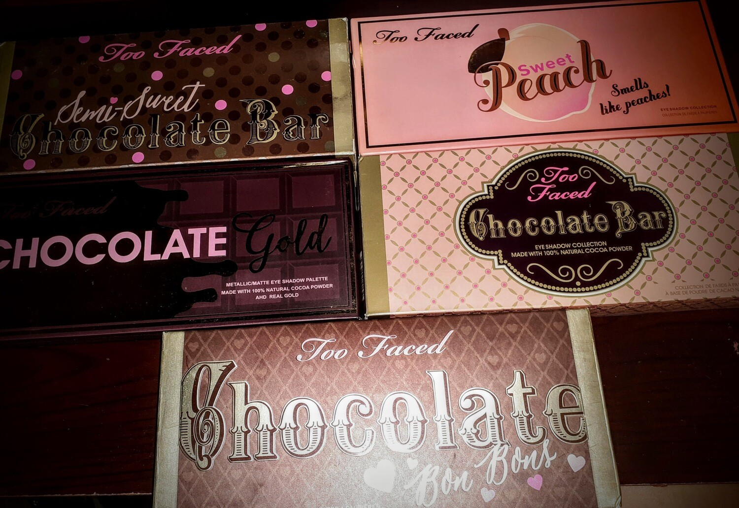Too Faced Chocolate Eyeshadow Pallets