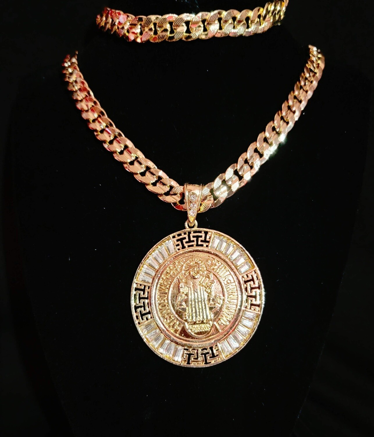 1/2in. thick X 26in. long Cuban Link Necklace