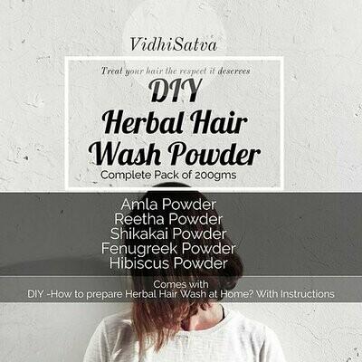 Herbal Hair Wash Powder | New Variant