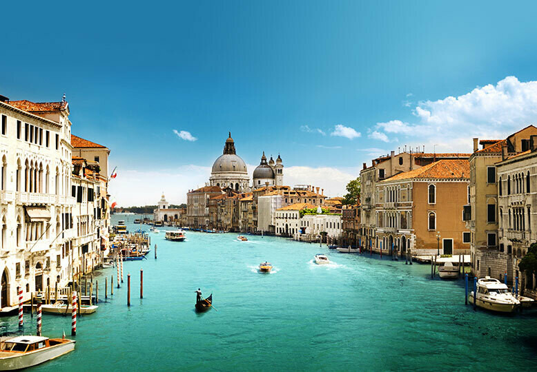 Fotomural Canal de Italia 00146