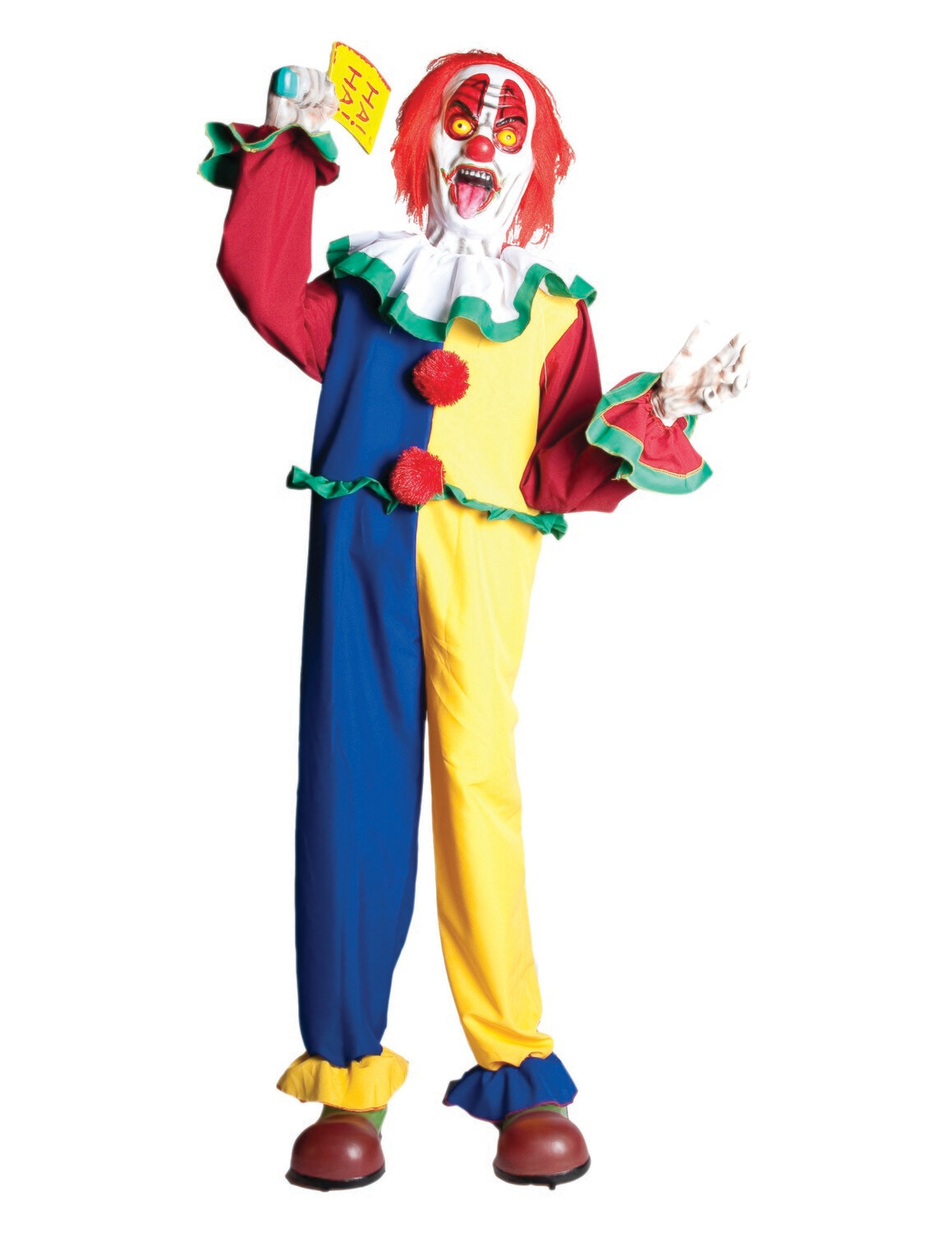 Animated Cleaver Clown