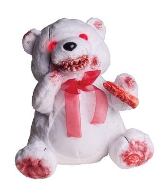 Feral Fuzzy White Bear