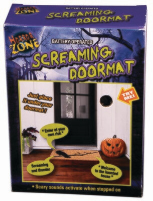 Screaming Door Mat