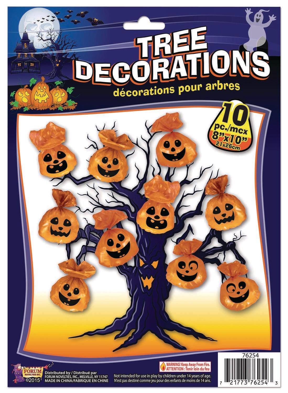 Tree Decorations - Pumpkin