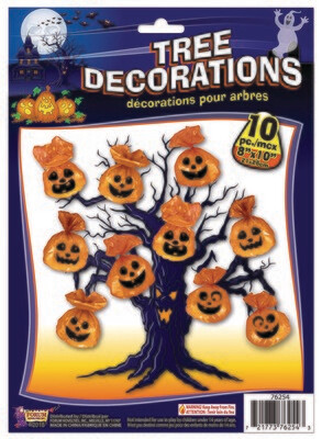 Tree Decorations - Pumpkin
