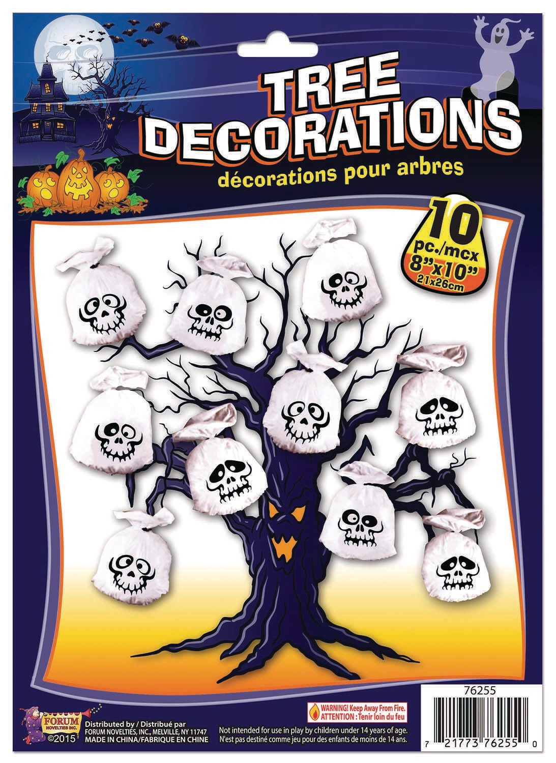 Tree Decorations - Ghosts