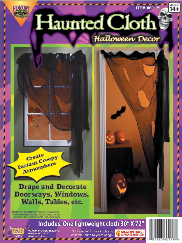 Haunted Cloth Halloween Decor