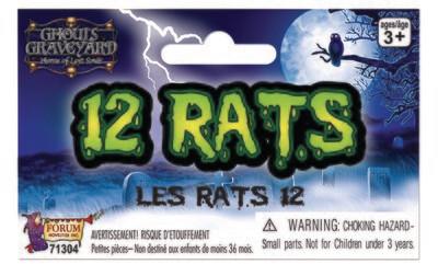 12 Rats