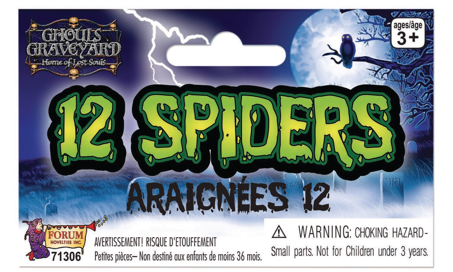 12 Spiders