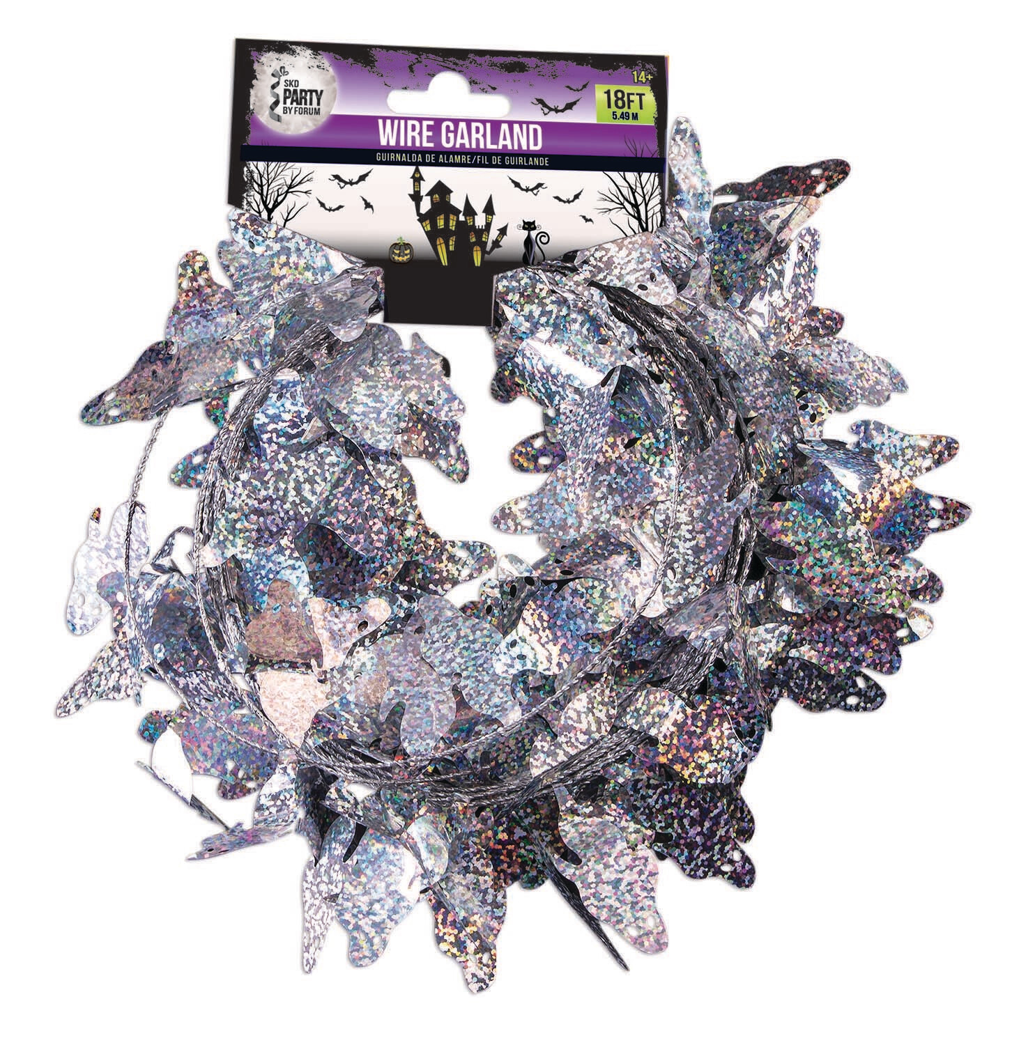 Ghost Holographic Garland