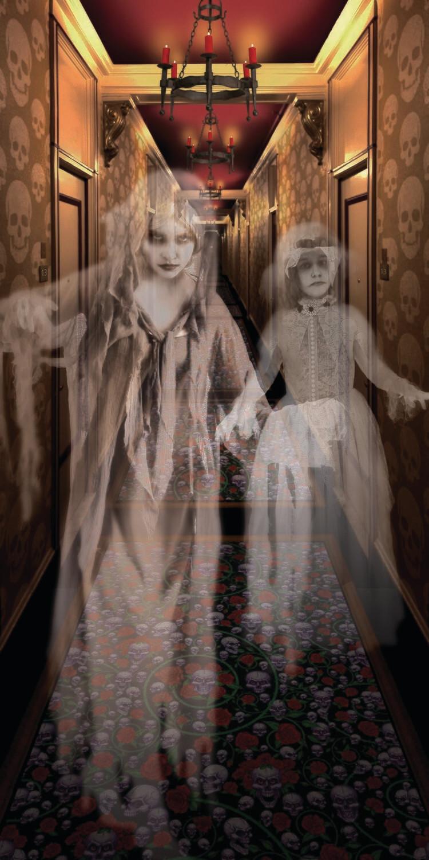 Hallway Poster - 2 Ghosts