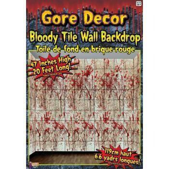 Gore Decor - Bloody Tile Wall Decor
