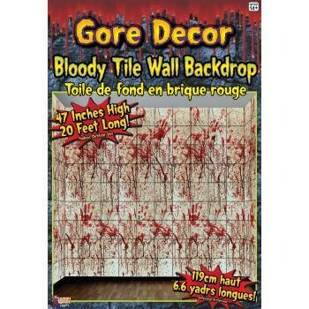 Gore Decor - Bloody Tile Wall Decor