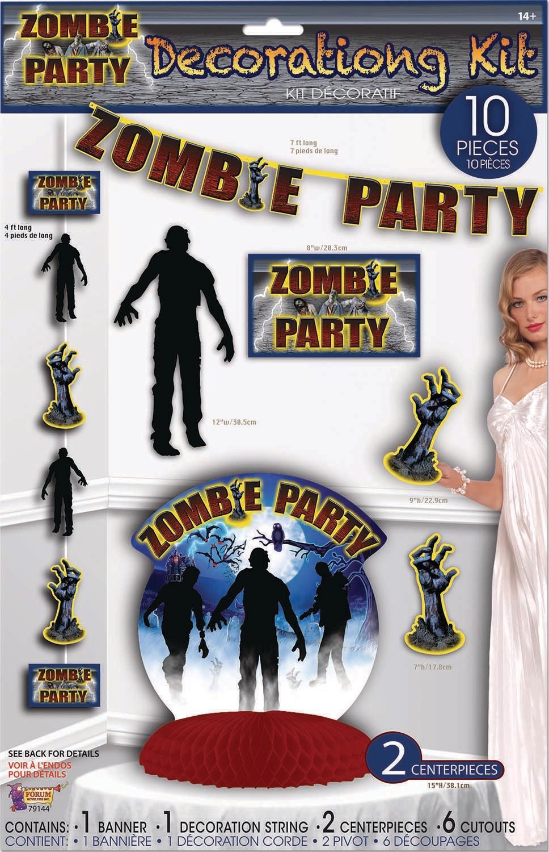 Zombie Party Decor Set