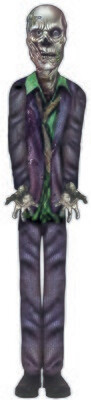 Zombie Purple Suit -Cut Out
