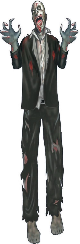 Zombie Black Suit -Cut Out