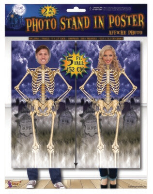 Skeleton Stand-In Poster