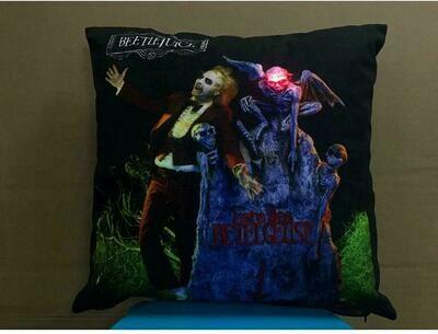 Beetlejuice Light-Up Pillow