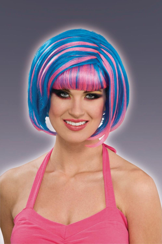 80's Candy Swirl Wig