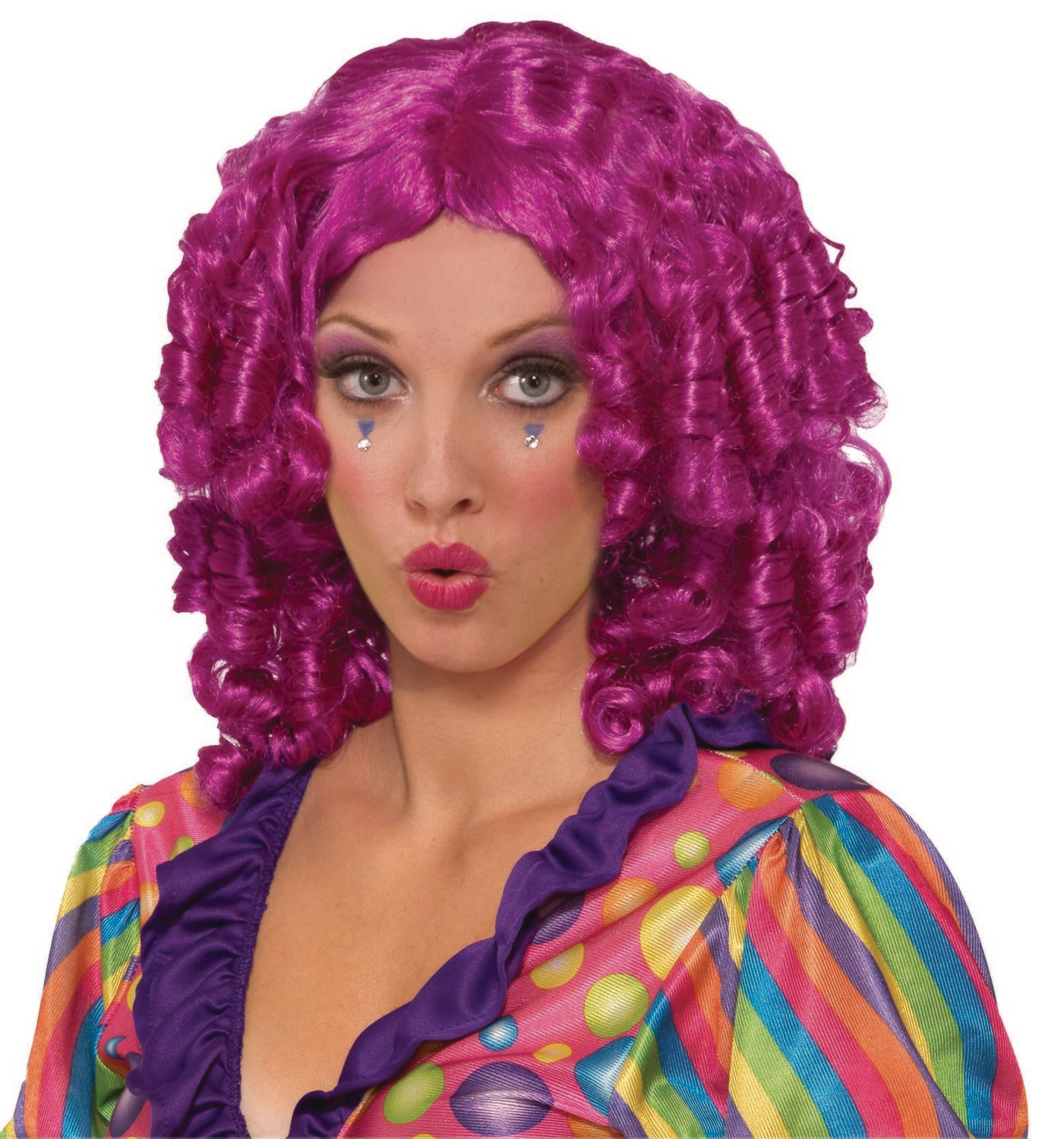 Curly The Clown Wig