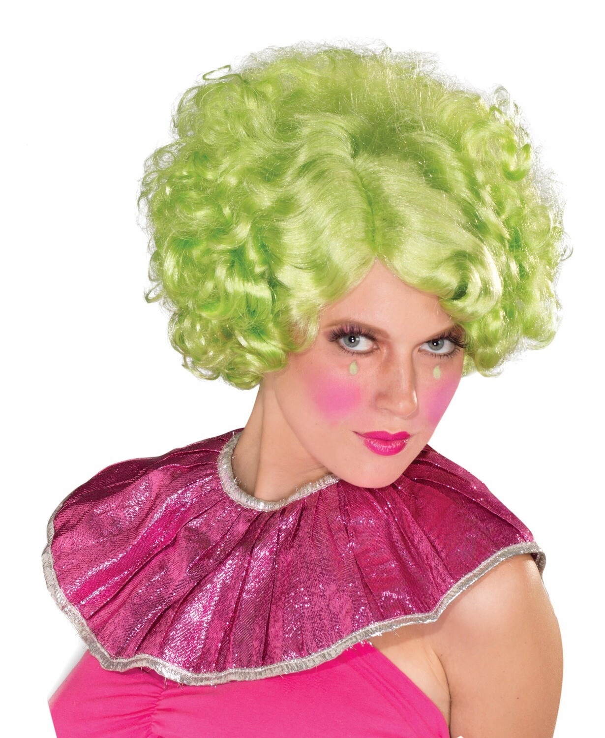 Noble Woman Wig - Green