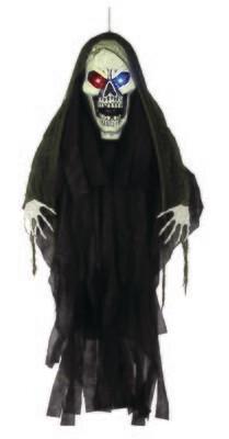 Light Up Giant Head - Grim Reaper