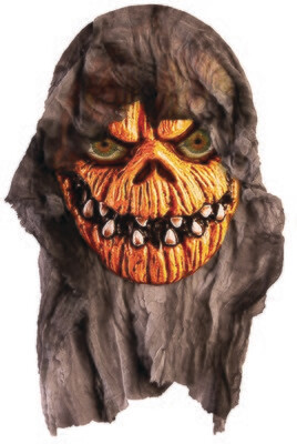 Pumpkin Head With Gauze