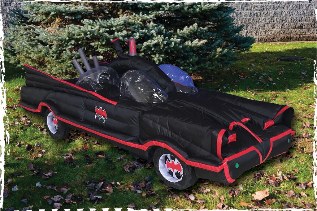 Classic Batmobile Inflatable