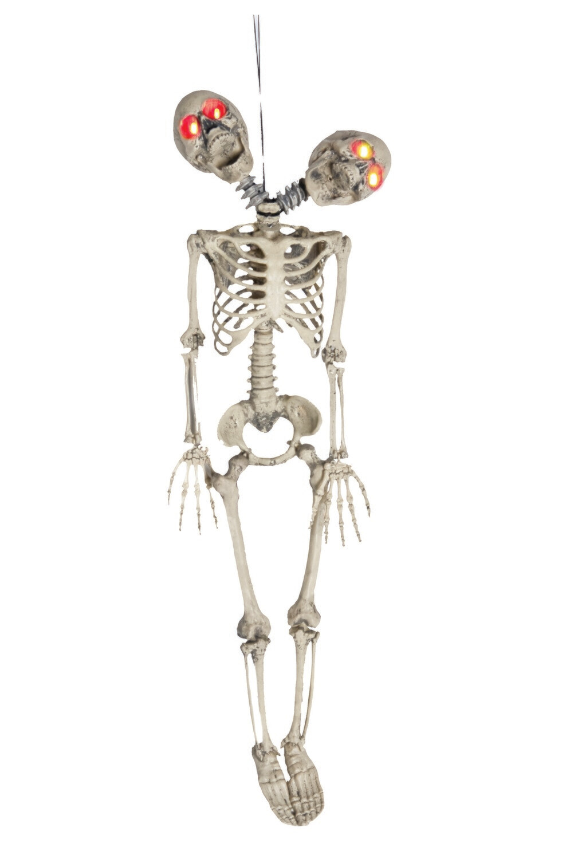 Two Headed Light UP Skeleton