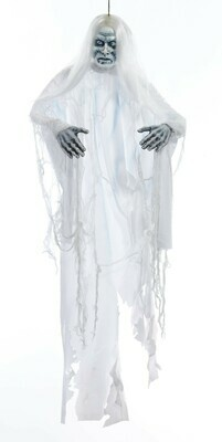 White Shadow Ghost - Hanging Prop
