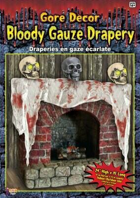 Bloody Gauze Drape