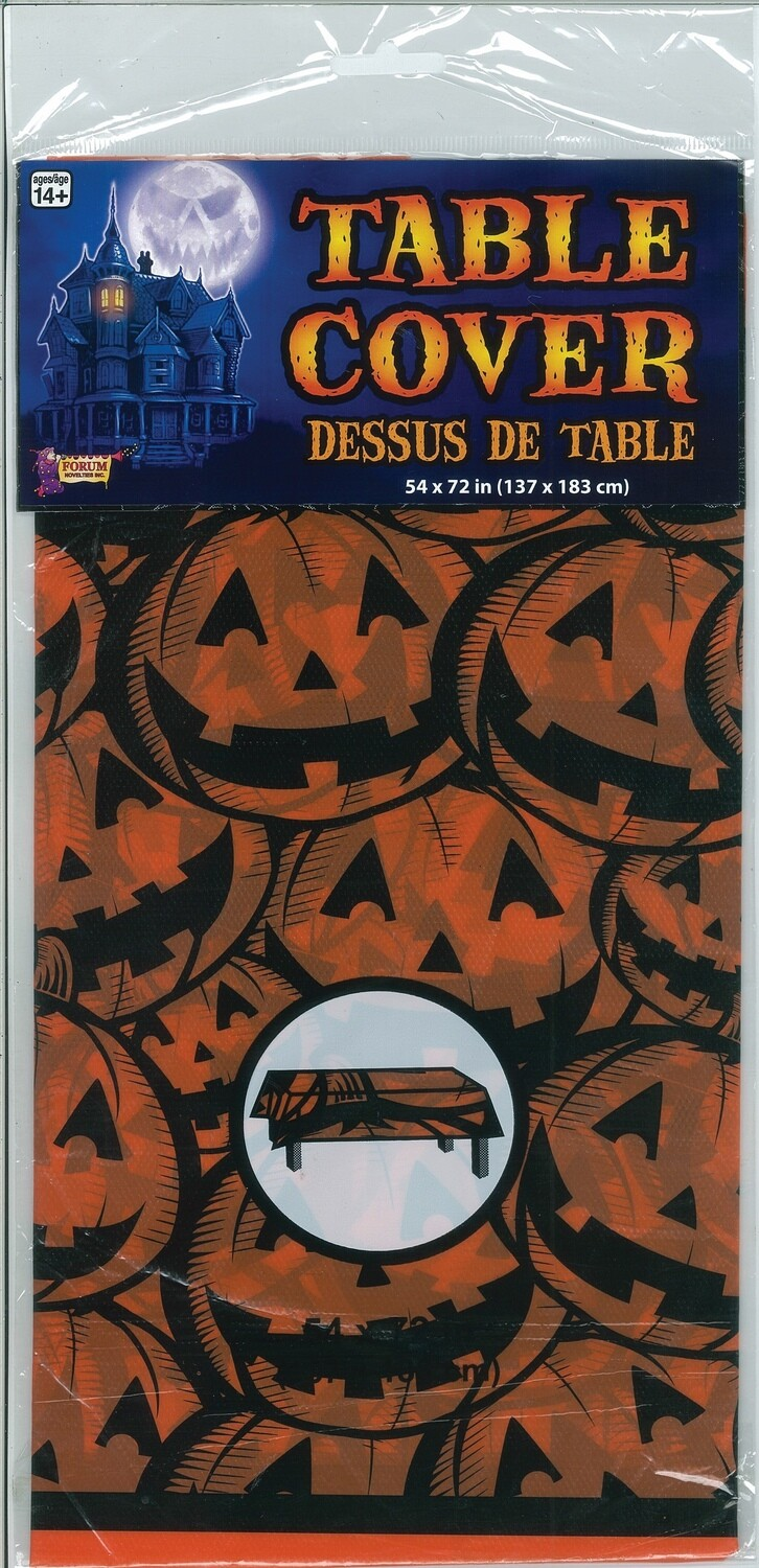 Pumpkin Table Cover