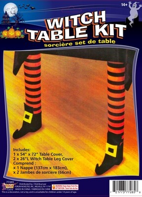 Witch Leg Table Cover