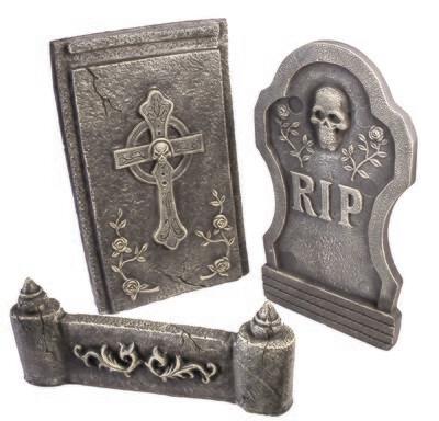 Tombstone Bed Set