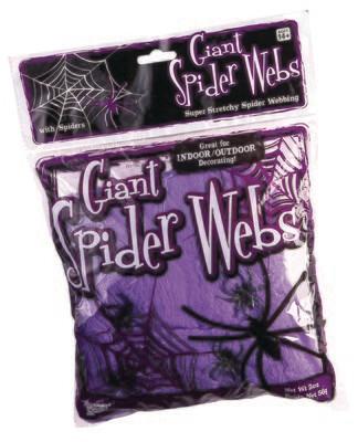 Giant Spider Webs - Neon