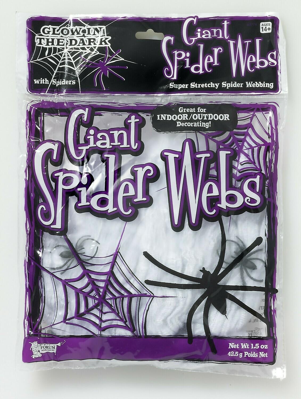 GID - Spider Webs - w/2 Spiders