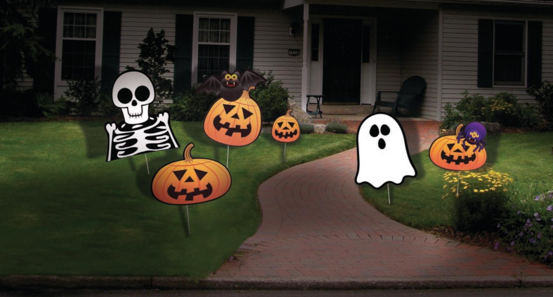 Halloween Lawn Set