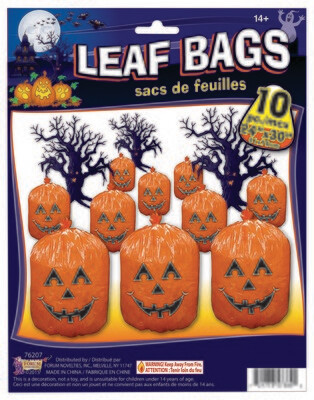 Leaf Bags - Pumpkin